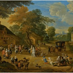 Lucas_Smout_the_Younger_-_The_village_square